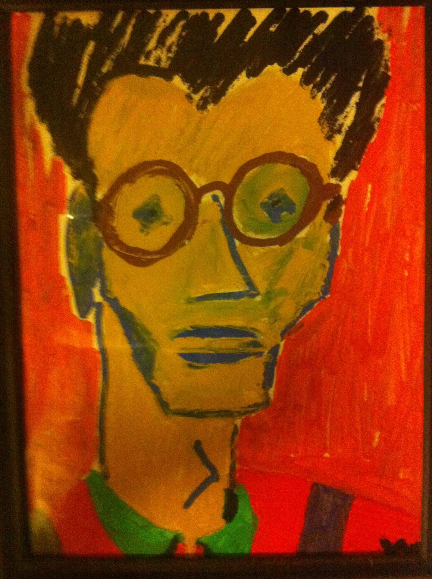 Portrait de jean claude trichard 1989