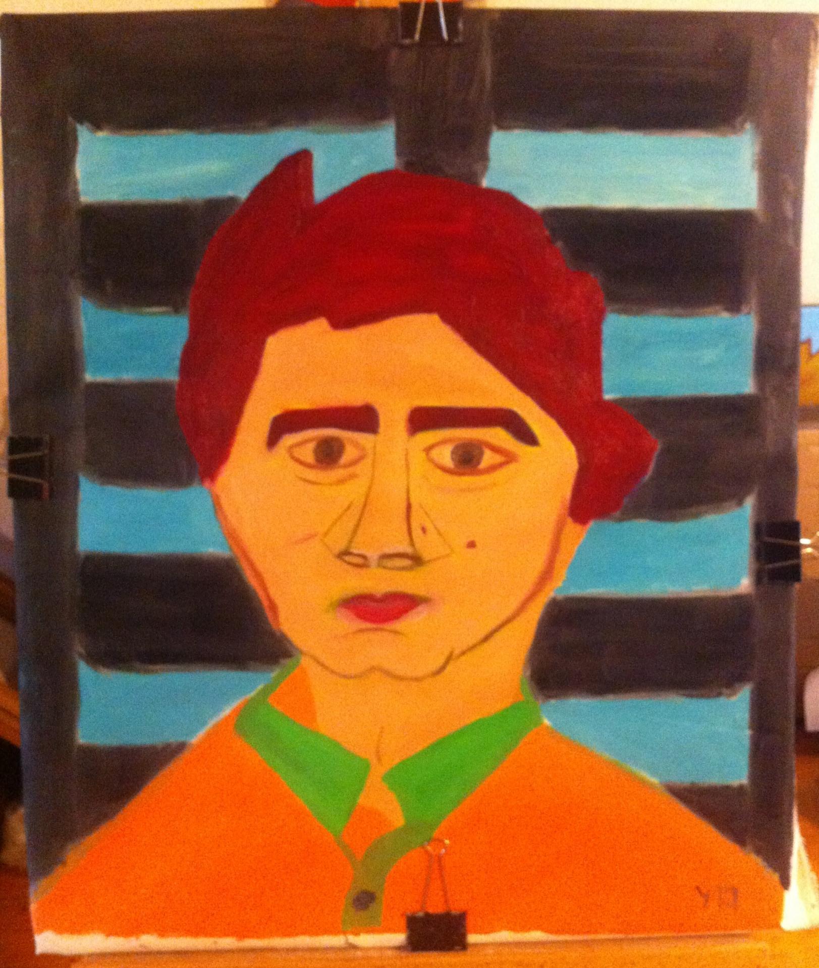 Portrait de louis joseph huile sur toile 20f 2015 001